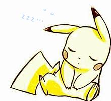 お眠り ピカチュウの画像(ピカチュウ かわいいに関連した画像)
