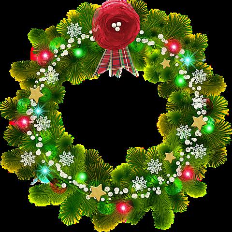 背景透過 X Mas クリスマスリース 素材 背景 完全無料画像検索のプリ画像 Bygmo