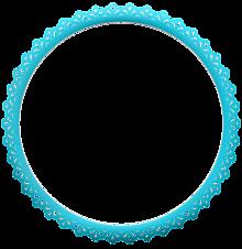 背景透過 フレーム シンプル ブルー 背景 素材 プリ画像