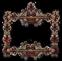 背景透過  フレーム  額縁  部分透過の画像(アンティークに関連した画像)