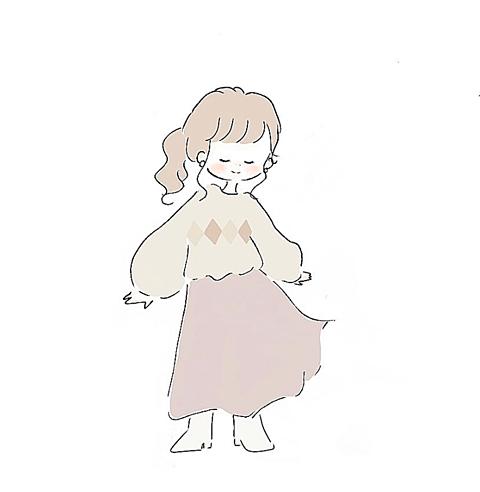 フレアスカートの画像 プリ画像