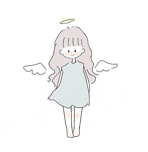 消えそうな色の天使👼