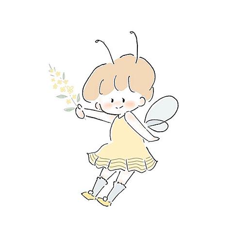 菜の花とミツバチの画像(プリ画像)