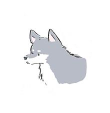 Siberian husky🐾の画像(犬 イラストに関連した画像)