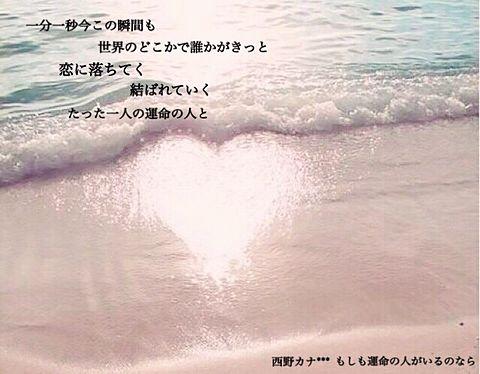 もしも運命の人がいるのなら***西野カナの画像(プリ画像)
