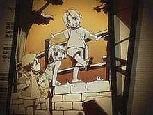 鋼の錬金術師【エド、アル、ウィンディ】子供の頃版の画像(プリ画像)