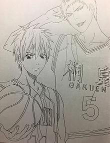 黒子のバスケ(黒×青)の画像(ツヤに関連した画像)