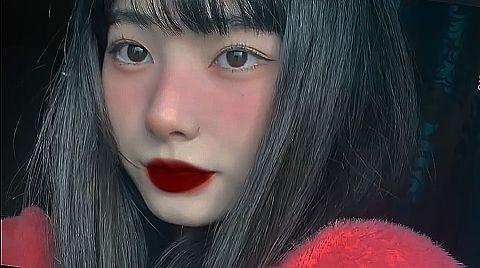 らんちゃん🐰黒髪もかわいいの画像(プリ画像)