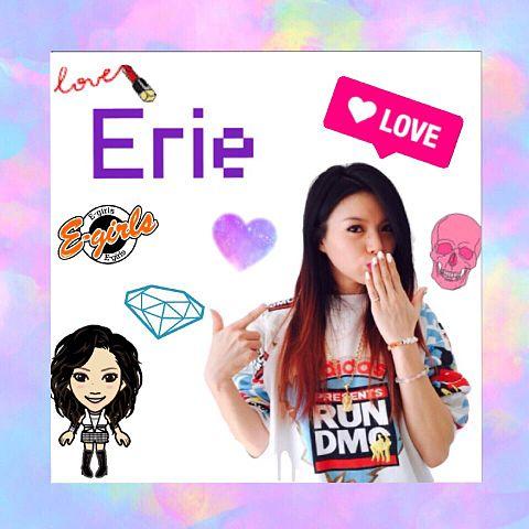 E-girls  Erieの画像(プリ画像)
