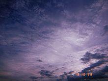 曇り空 プリ画像
