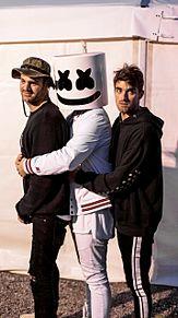 THE Chainsmokers × Marshmelloの画像(EDMに関連した画像)