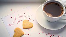 コーヒーとクッキーの画像(クッキー かわいいに関連した画像)