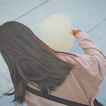 オルチャン 韓国 カジュアル 可愛い 女の子 後ろ姿 わたあめの画像(カジュアルに関連した画像)