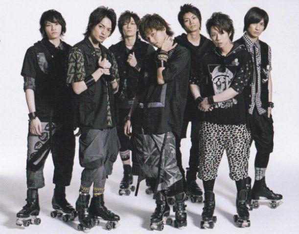 صور الفرقة اليابانية الجونييزية الرائعة Kis-my-ft2,أنيدرا