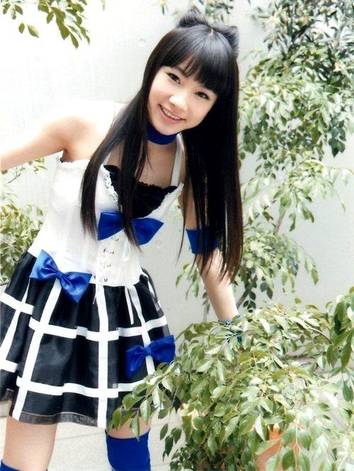 リボンヘアーの石田亜佑美