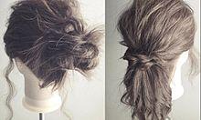 """お出かけ前の3分でできる!伸ばしかけのダサ髪を""""こなれ感""""あるオシャレ髪に変身させるアレンジ集の画像(伸ばしかけに関連した画像)"""