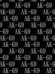 AK-69背景待受画像 黒系の画像(プリ画像)