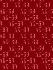 AK-69背景待受画像 赤系の画像(プリ画像)
