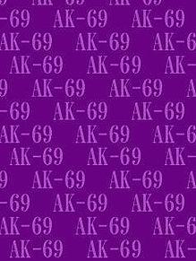 AK-69背景待受画像 紫系の画像(プリ画像)