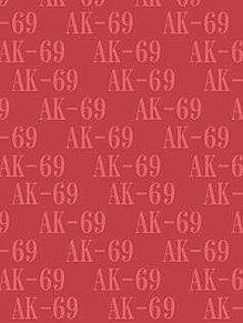 AK-69背景待受画像 赤系 パステル系の画像(プリ画像)