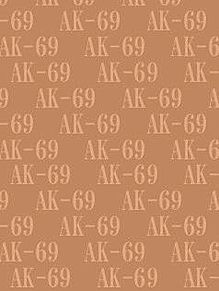 AK-69背景待受画像 橙(茶)系 パステル系の画像(プリ画像)