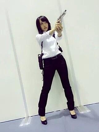 向井地美音ちゃんアンフェア仮装の画像(プリ画像)