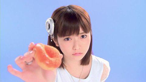 AKB48 島崎遥香 ミスドの画像(プリ画像)