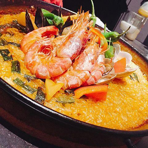 スペイン料理 パエリア@毛原晃の画像(プリ画像)