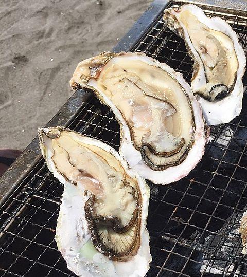 BBQで牡蠣が食べたい@毛原晃の画像(プリ画像)