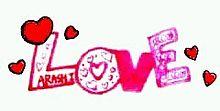 LOVE**  ピンクver プリ画像