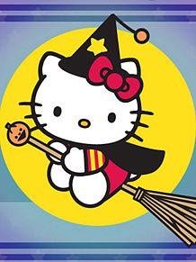 魔女キティ (マイコレ・保存はイイネ!)の画像(プリ画像)