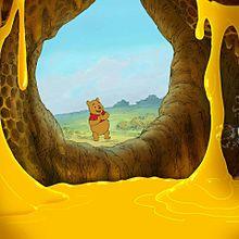 プーさん*ハチミツの洞窟  (マイコレはポチ押す)の画像(プリ画像)