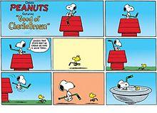 スヌーピー*漫画  (マイコレはポチ押す)の画像(プリ画像)