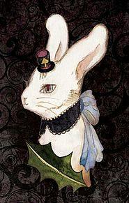 3月ウサギ  (マイコレはポチ押す)の画像(プリ画像)