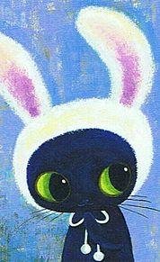 ウサギの被り物  (マイコレはポチ押す)の画像(プリ画像)