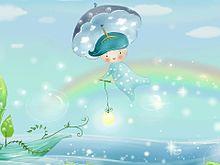 雨降りの妖精  (マイコレはポチ押す)の画像(プリ画像)