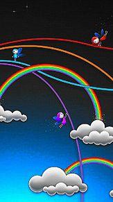 虹の国  (マイコレはポチ押す)の画像(プリ画像)