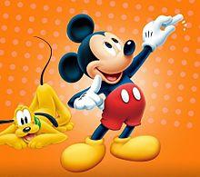 ミッキー&プルート  (マイコレはポチ押す)の画像(プリ画像)