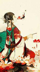 睡蓮姫の戯れ  (マイコレはポチ押す)の画像(プリ画像)