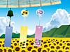 風鈴と向日葵畑  (マイコレはポチ押す) プリ画像