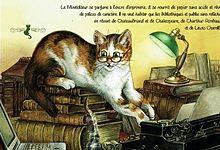 猫の学者  (マイコレはポチ押す)の画像(プリ画像)