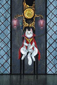 CAT  KING  (マイコレはポチ押す)の画像(プリ画像)