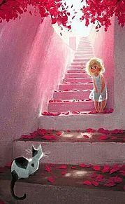 猫と少女  (マイコレはポチ押す)