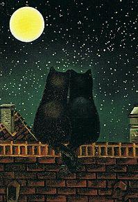 お月見 カップル  (マイコレはポチ押す)の画像(プリ画像)