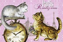 パリの子猫たち  (マイコレはポチ押す)の画像(プリ画像)