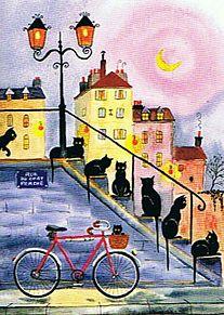 猫の居る風景  (マイコレはポチ押す)の画像(プリ画像)