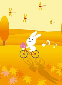 ウサギさんと赤トンボ  (マイコレはポチ押す)
