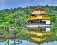 金閣寺の風景  (マイコレはポチ押す)の画像(プリ画像)