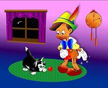 ピノキオ&フィガロ  (マイコレはポチ押す)の画像(プリ画像)