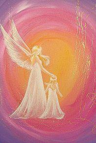 天使の親子  (マイコレはポチ押す) プリ画像